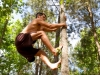 MovNat Man Tree Climbing