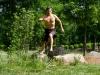 MovNat Man Rock Hopping