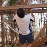 pull-ups on the monkey bars