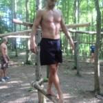 Balancing on the limb/bar