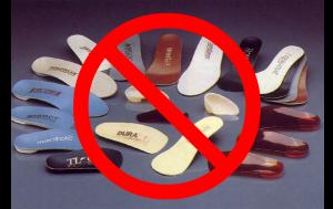 Do Not Wear Orthotics! 10 Reasons Not to Wear Orthotics