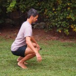 Balanced Squat Mobility Drill