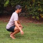 Balanced Squat Mobility Drill