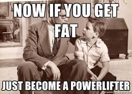 fat powerlifter
