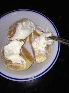 clotted cream snack