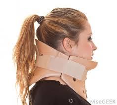 orthotics: neck brace for foot