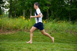 sock doc stretcing running